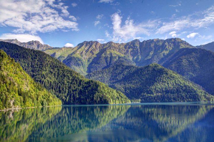 Абхазия. Майские