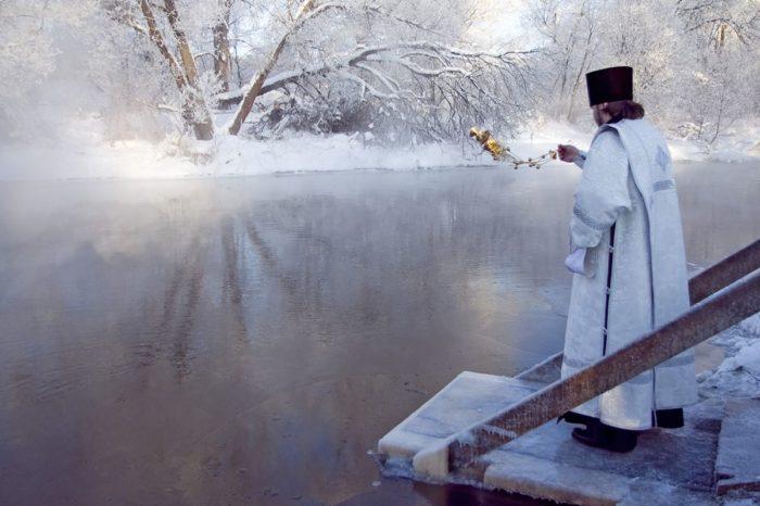 Крещение на базах отдыха